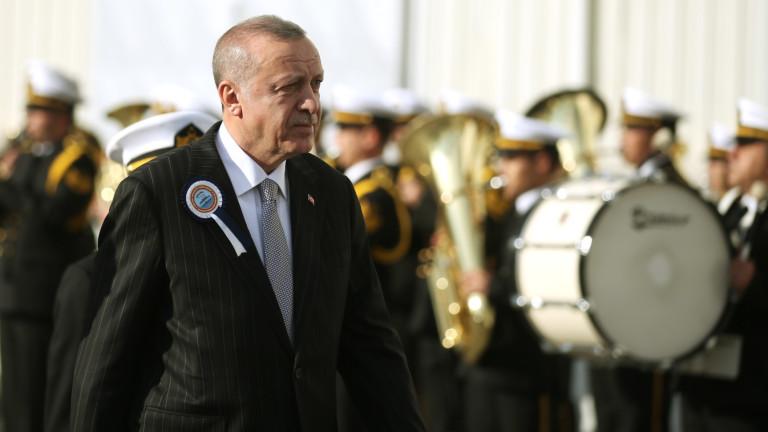 Турция обяви, че парламентът разработва закон за войски в Либия
