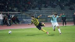 Дунав - Ботев 0:0 (Развой на срещата по минути)