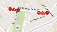 "Пускат движението по столичния булевард ""Патриарх Евтимий"""