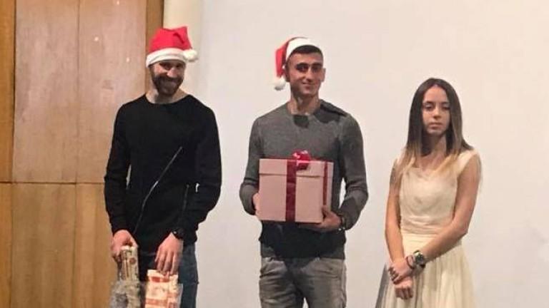 ЦСКА дари кръв и зарадва с подаръци болни от диабет дечица