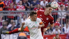 Байерн (Мюнхен) победи Вердер (Бремен) с 1:0