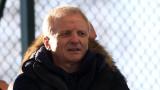 Гриша Ганчев мотивира футболистите на ЦСКА преди рестарта на шампионата