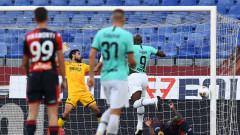 Интер победи Дженоа и си върна второто място
