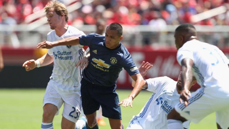 Манчестър Юнайтед не може да победи американския Сан Хосе Ърткуейкс
