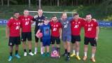 ЦСКА сбъдна една детска мечта