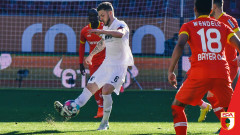 Аугсбург и Байер (Леверкузен) завършиха 1:1 в мач от Бундеслигата