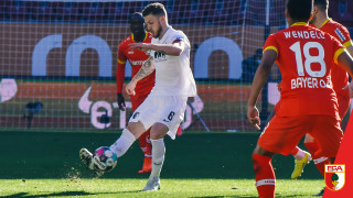 Гол в 95-ата минута спаси Леверкузен срещу Аугсбург