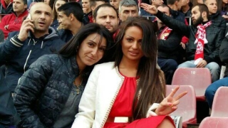 Родни красавици красят трибуните на ЦСКА (СНИМКИ)