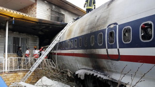 Самолет на иранската армия се разби край Техеран