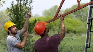 Студенти доброволци сложиха 6 гнезда за ловните соколи
