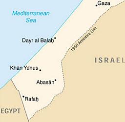 Цели 45,2% е безработицата в Ивицата Газа