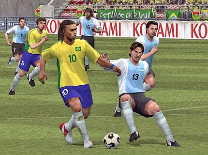 Pro Evolution Soccer 6 в края на следващия месец