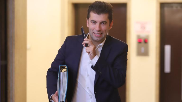 Кирил Петков ще назначи трима свои заместници