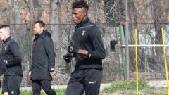 Стивън Езе отпадна от групата на Локомотив (Пловдив) за мача с Берое