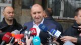 Български мигранти няма, има европейски граждани, критичен Радев към Макрон