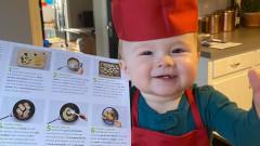 Едногодишното бебе готвач, за което всички говорят