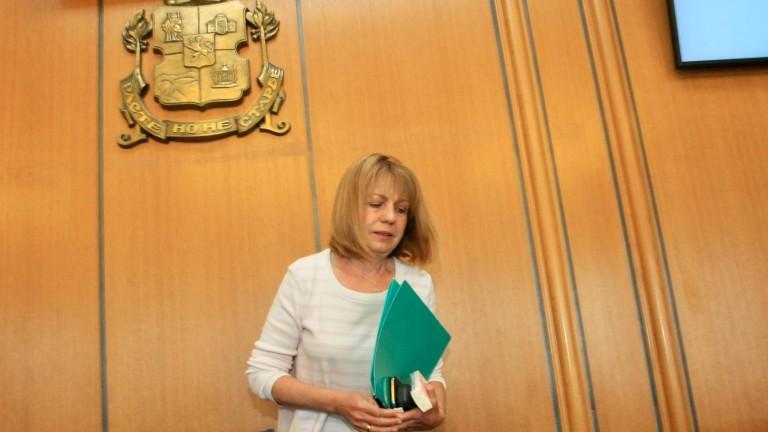 Снимка: Фандъкова бие Манолова на балотаж за кмет на София, ако се кандидатират