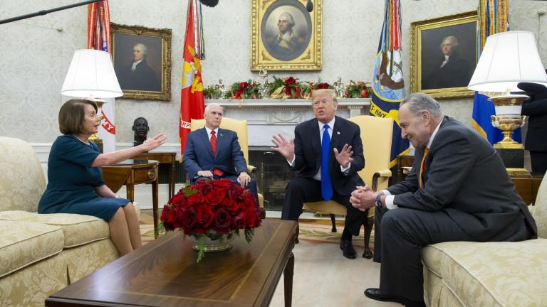 Председателят на Камарата на представителите на САЩ Нанси Пелоси отмени