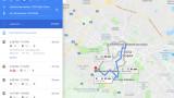 Градският транспорт в София влиза в Google Maps