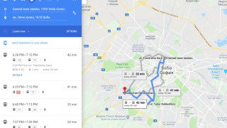 Google Maps ще показва дали автобусите от градския транспорт идват навреме и колко са препълнени