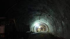 """Катастрофа временно затвори тунел """"Витиня"""""""