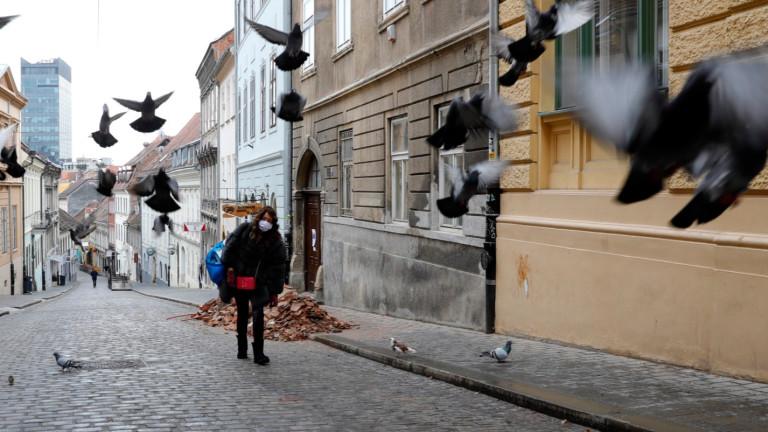 Земетресение от 5,2 до Загреб