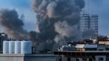 Втора нощ на въздушни удари в Газа