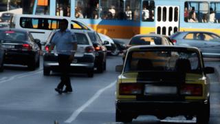 Шофьорската стрелба в София - заради жена