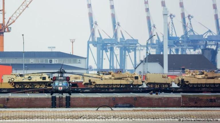 В Германия пристигнаха танкове от САЩ - подкрепление за Източна Европа