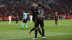 """Леверкузен окупира върха в Група """"А"""", вкара 4 гола на АЕК"""