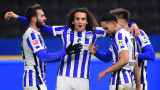 Херта победи Шалке с 3:0 в Бундеслигата