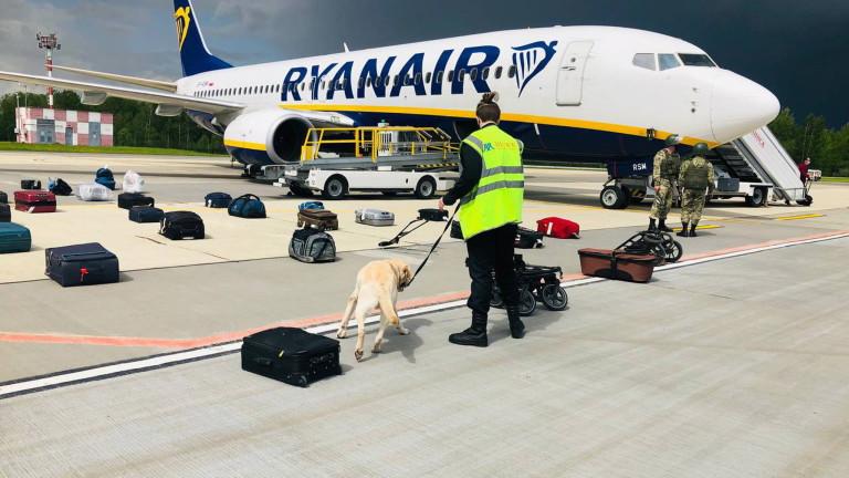 Беларус към пилота на Ryanair: Имате бомба на борда