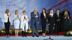 """Министър Кралев награди Мария Гигова с най-високото държавно отличие в областта на спорта """"Венец на победителя"""""""