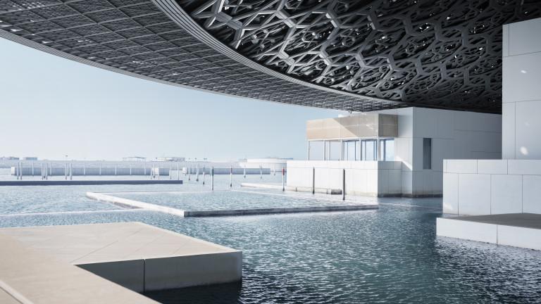 Лувърът в Абу Даби разклаща представите за музей