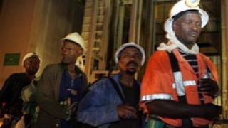 1500 миньори спасени до момента в ЮАР
