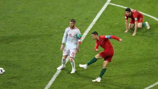 Брилянтен Кристиано Роналдо измъкна Португалия срещу Испания в зрелище с шест гола