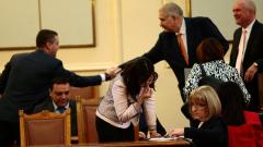 Сред скандали и остри дебати Цачева сбърка името на номинираната за правосъден министър