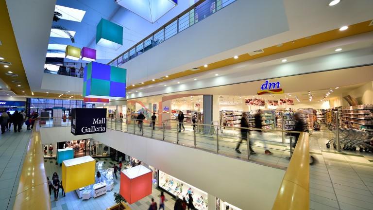 60 000 кв. м нови магазините в молове са отворени за половин година в България
