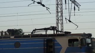 Пламна локомотивът на влака Ямбол - Бургас