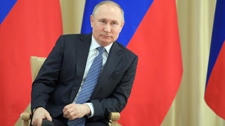 Президентът на Русия Владимир Путин обяви, че страната му може