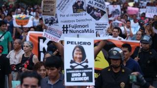 Хиляди перуанци срещу кандидатурата на дъщерята на Фухимори
