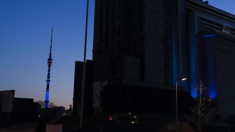 """Бомба в телевизионната кула """"Останкино"""""""