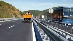 """Ремонтират до септември виадукта на 35-тия километър на """"Хемус"""""""