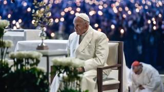 Срещу издигането на стени се обяви папата в Португалия