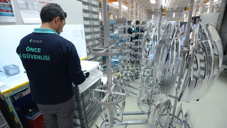 Турската компания Feka Automotive, която произвежда автомобилни части, ще започне
