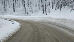 "Снегът спря автобусите до х. ""Алеко"" на Витоша"