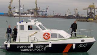 Два нови катера получи граничната полиция в Бургас