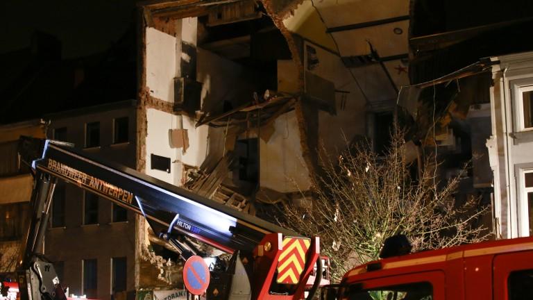 Мощна експлозия разруши жилищна сграда в белгийския град Антверпен, предадоха