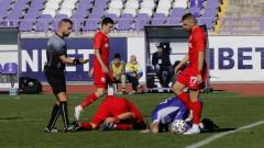 Петко Ганев няма счупване на левия крак