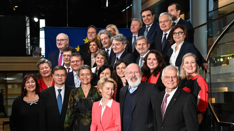 ЕС окончателно утвърди мандата на Комисията на Фон дер Лайен до 31 октомври 2024 г.